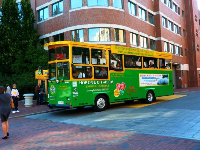 Boston Tour Trolley