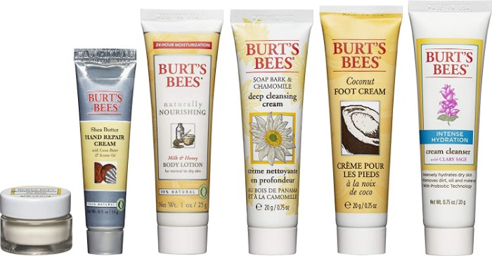Burts Bees Skincare Products Travel Set