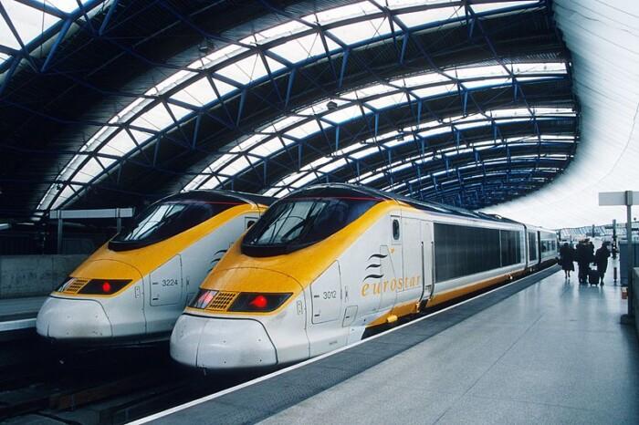 Eurostar Waterloo Station