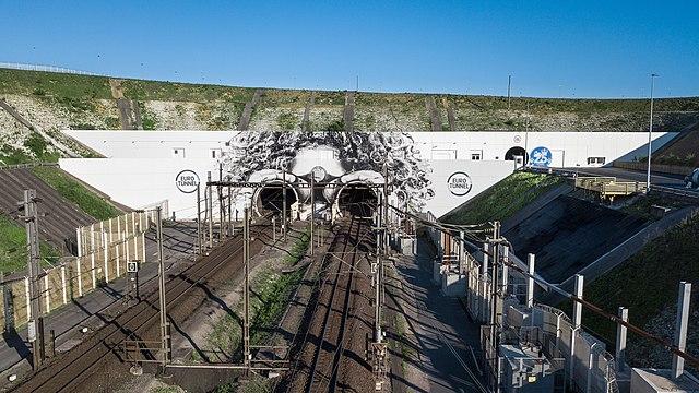 Eurotunnel entrance