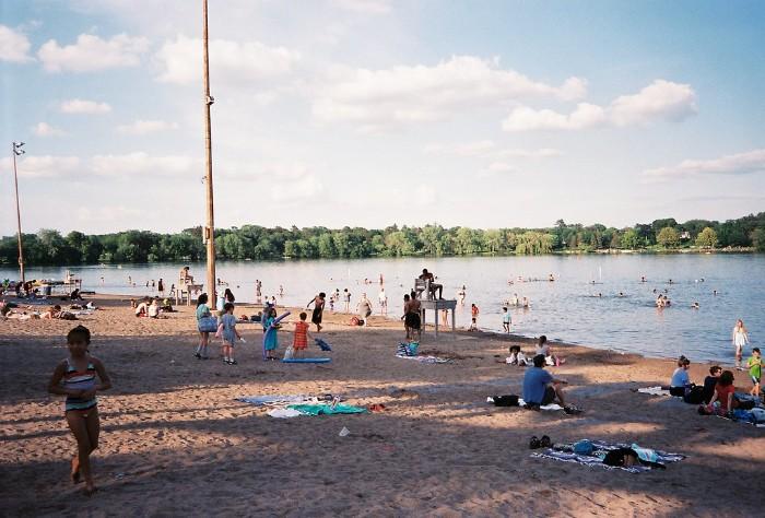 Lake Nokomis Main Beach