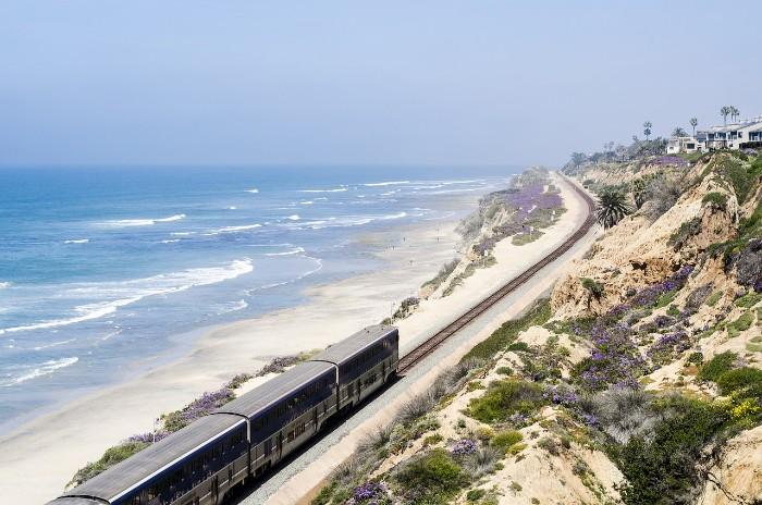 San Diego Beech and Rail