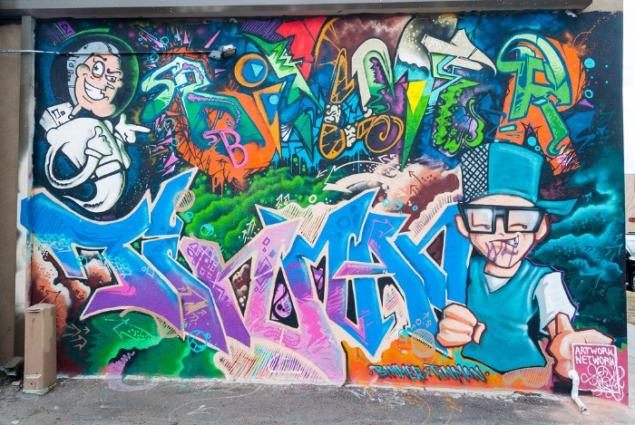 Ally Mural Santa Fe Arts District