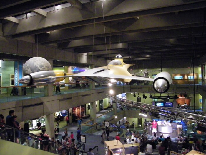 an attraction at the Museum of Science, Boston
