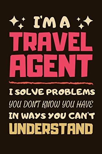 Travel Agent Gifts Lined Notebook Journal