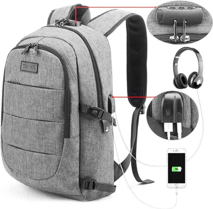 Tzowla multipurpose traveling backpack