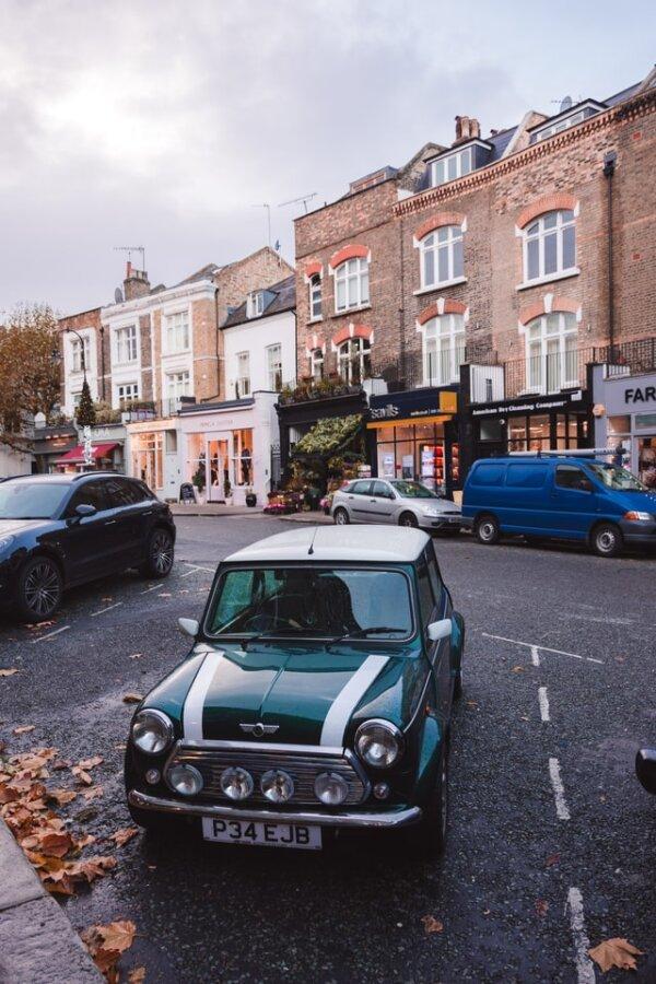 UK Mini parking