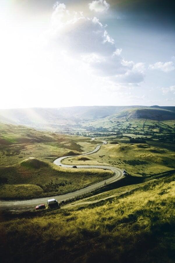 UK country roads