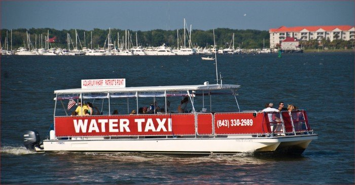Water Taxi in Charleston SC