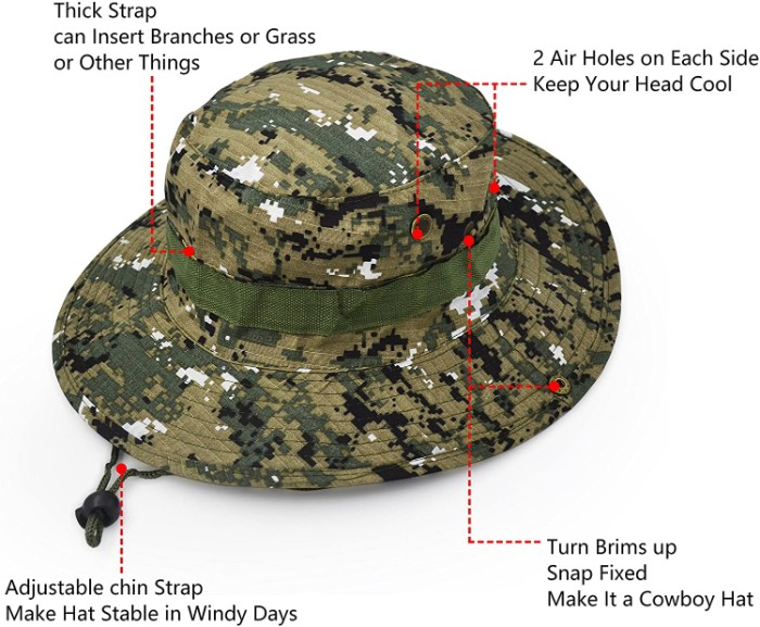 Wide Brim Sun Protect Hat for Tour Guides