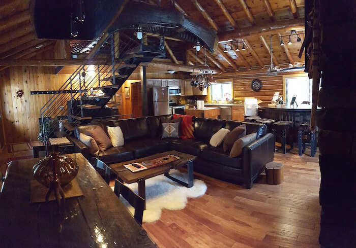 Log Cabin on Lake Superior