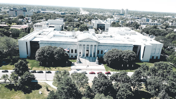 Minneapolis Institute of Art Aerial View