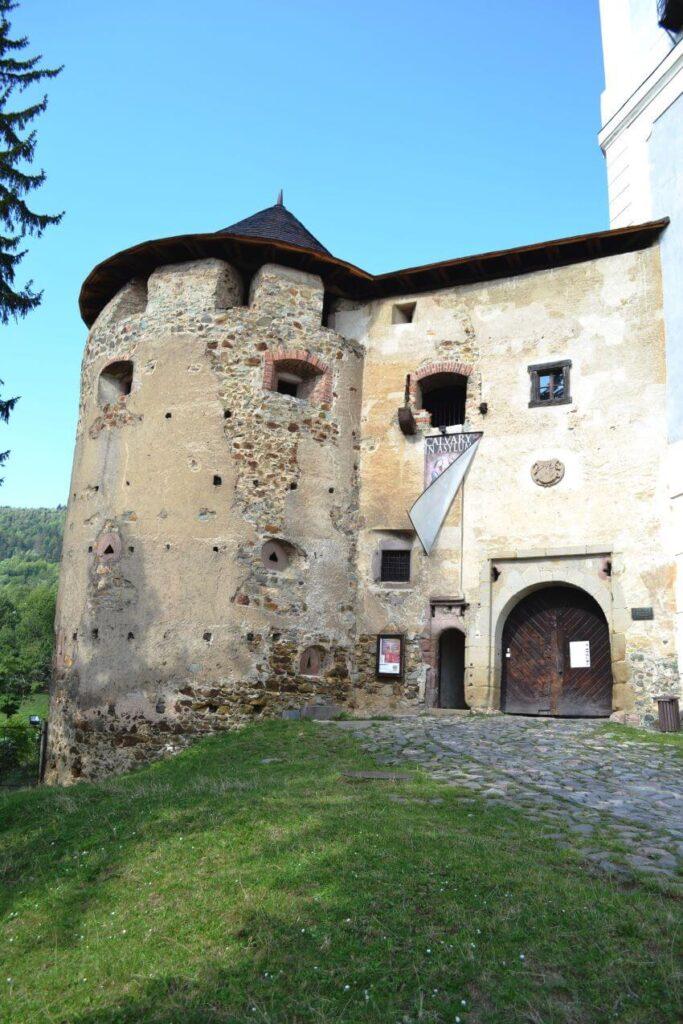 A Part of the Starý Zámok Old Castle