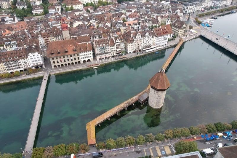 Kapellbrücke Chapel Bridge Lucerne