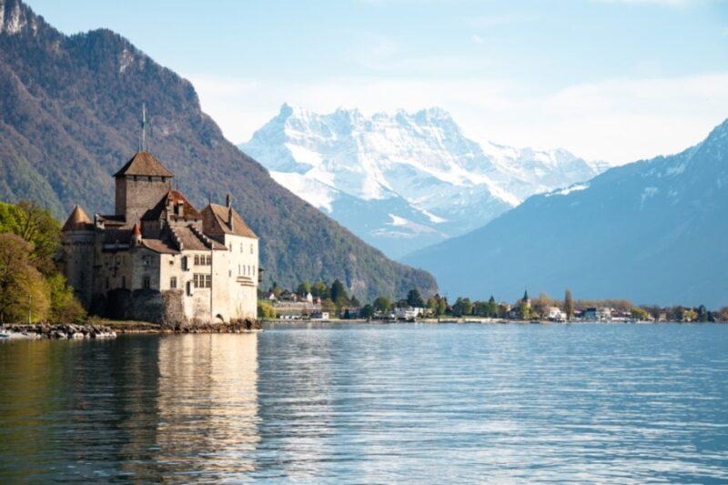 Chillon Castle Switzerland