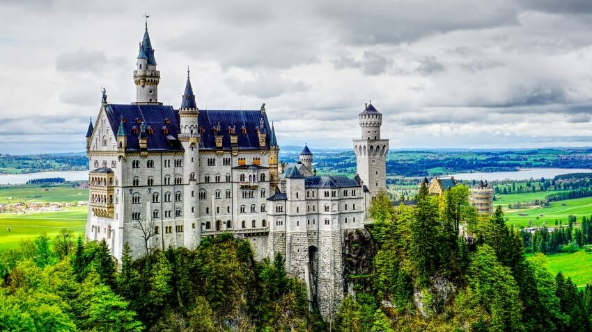 Neuschwanstein Castle, Castle in Germany