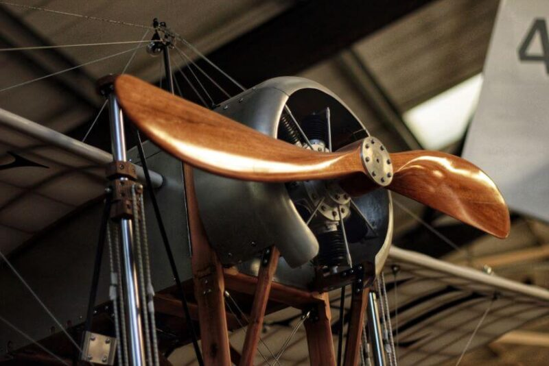 Part of an Aircraft in a Museum