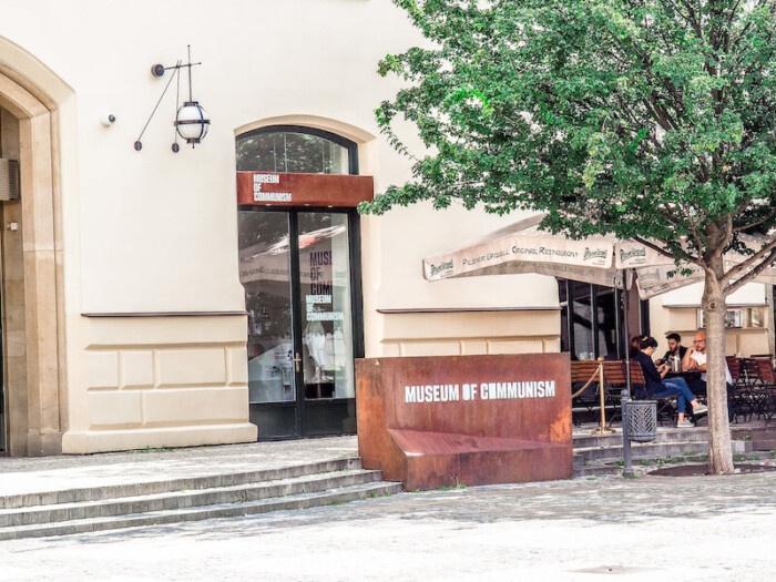Museum of Communism Entrance
