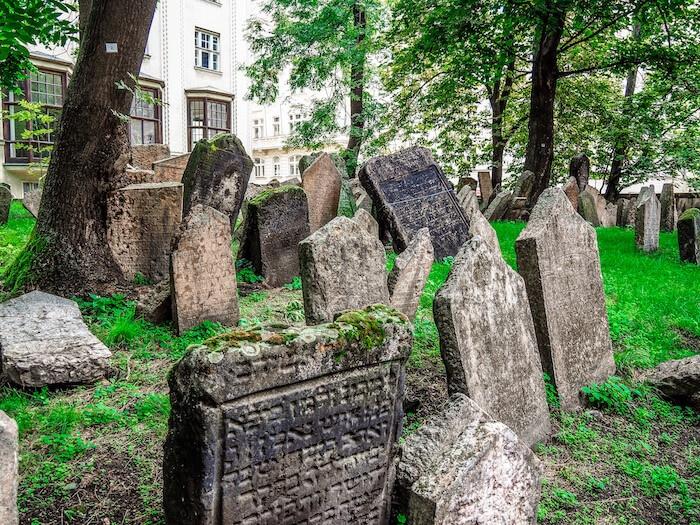 Old Jewish Cemetary in Prague