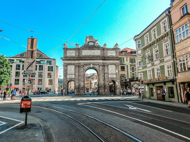Triumphforte, Innsbruck, Austria
