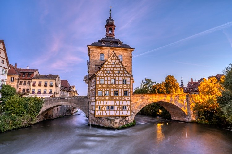The Old Town Hall in Bamberg