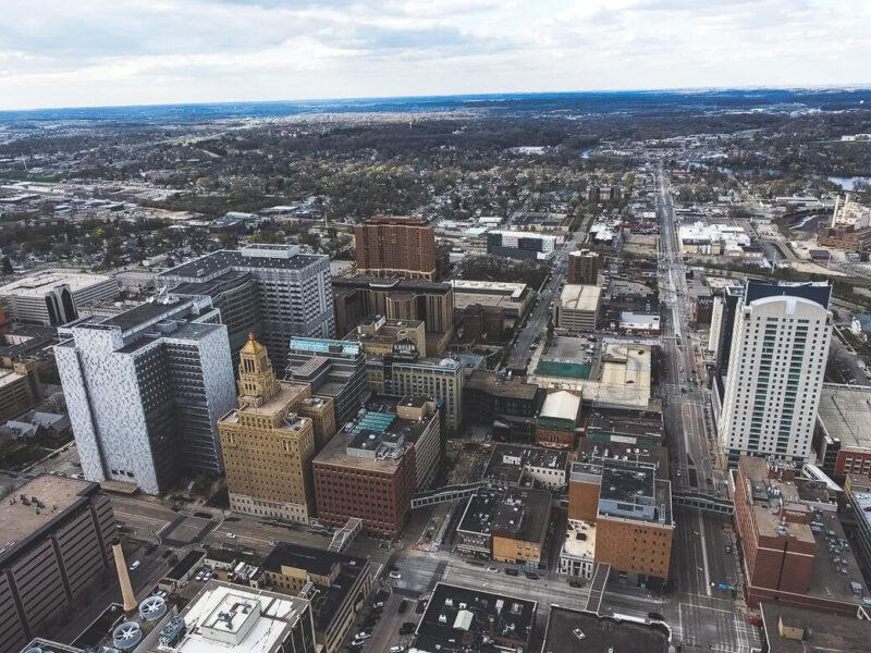 Rochester, Minnesota Skyline