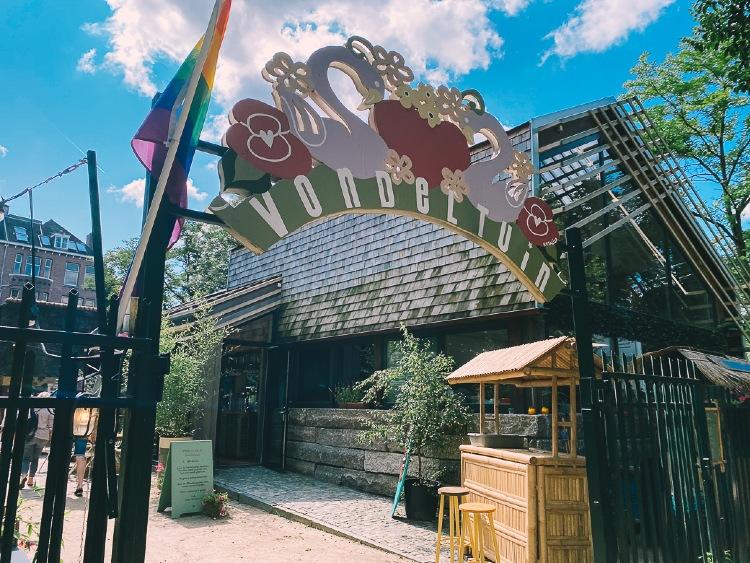 Vondeltuin Entrance at Vondelpark